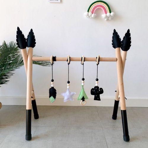 Gimnasio montessori de estimulación para bebés 2