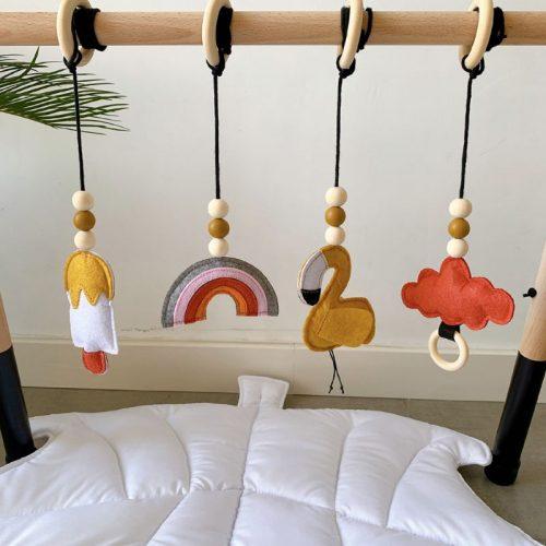 Gimnasio montessori de estimulación para bebés 4