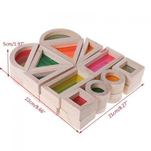 Bloques de construcción montessori 5