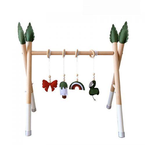 Gimnasio montessori de estimulación para bebés 13