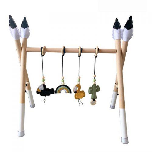 Gimnasio montessori de estimulación para bebés 15