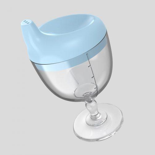 Taza de aprendizaje con forma de copa ¡Chin chin! 🍷 3