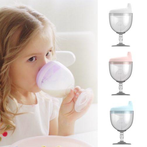 Taza de aprendizaje con forma de copa ¡Chin chin! 🍷 1